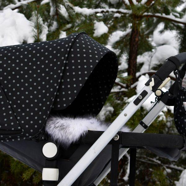 zestaw bugaboo cameleon winter dots zimowe kropki