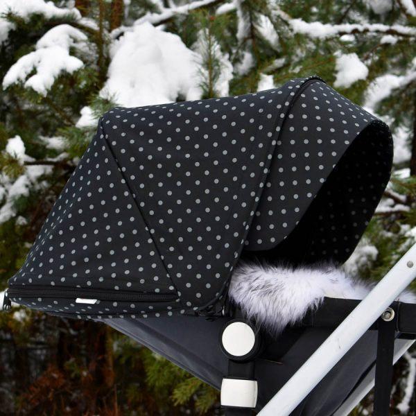 budka bugaboo cameleon winter dots zimowe kropki