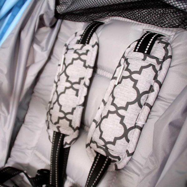 Osłonki pasów bezpieczeństwa wózka Moroccan Clover