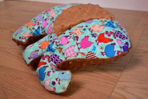 Przytulanka poduszka słoń Beauty Hen Piękne Kury
