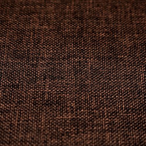 Poliester gładki - brązowy melanż