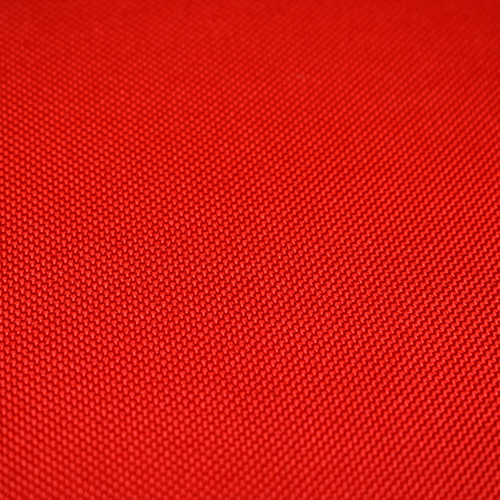 Poliester gładki - czerwony