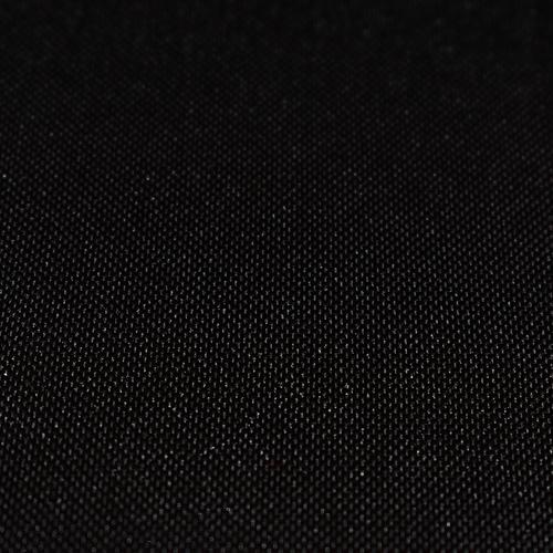Poliester gładki - czarny