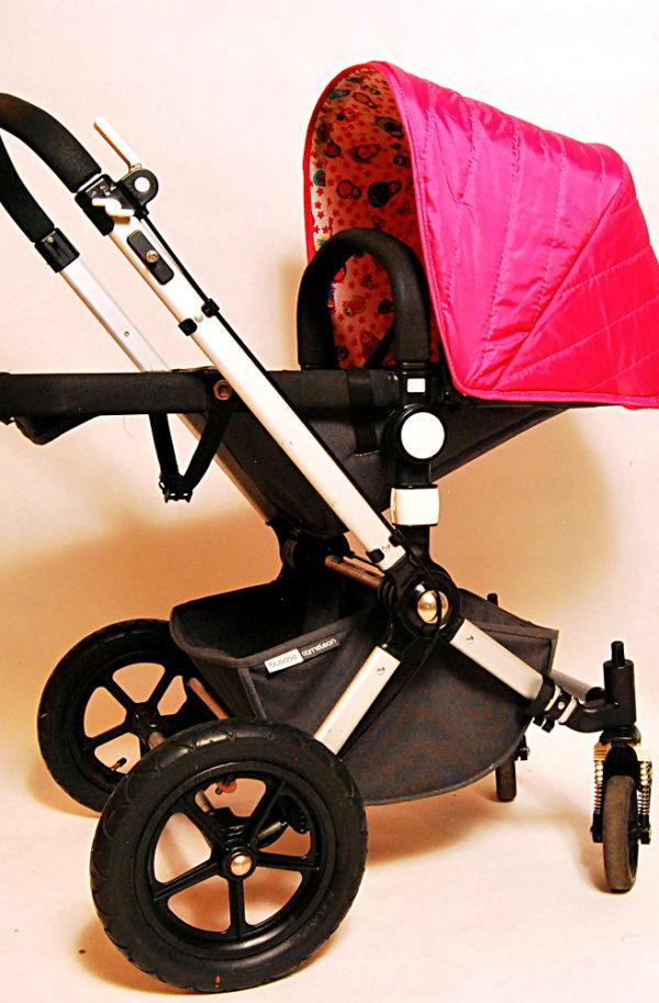 Budka Bugaboo Cameleon Różowa Matrioszka - 1