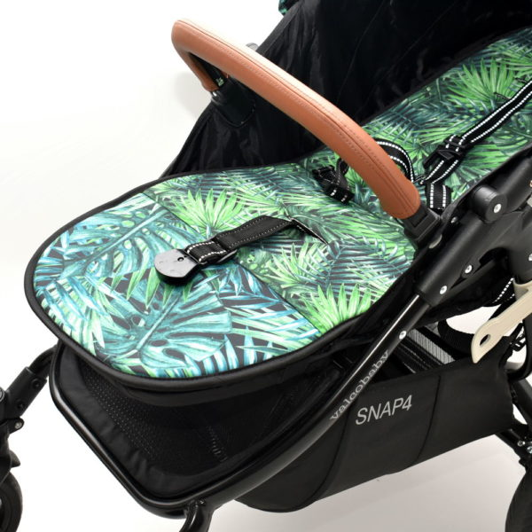 Wkładka dwustronna do wózka Valco Snap Tropikalne Liście Tropical Leaves