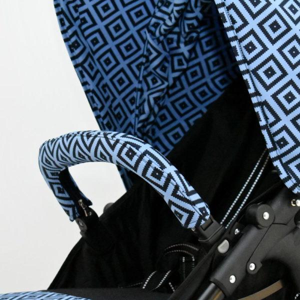 osłonka pałąka valco snap niebieskie znaczki blue stemps